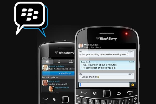 Blackberry Messenger Artık Ios Ve Android'te